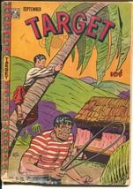 Target Vol. 8 #7 1947-Targeteers-Chameleon-Cadet-Elephant-Don Rico-FR - $25.22