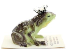 Hagen-Renaker Miniature Frog Prince Kissing Birthstone 10 October Opal image 2
