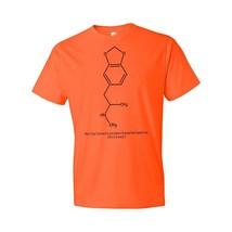 MDMA Molecule Ecstasy T-Shirt Science Gift Mdma Psychedelic Hallucinogen Raver - $18.95+