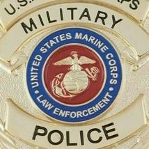 "USMC Military Police Badge Pin Back 3"" - $49.49"