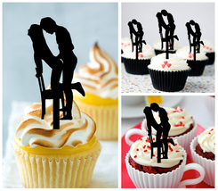Anniversary Wedding,Birthday Cupcake topper, we still do Package : 10 pcs - $10.00