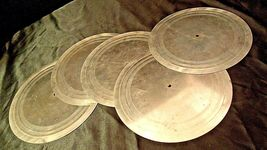 Metal TurnTable Mat with Rubber Backing (Six) AA20-2144 image 3