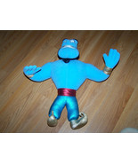 "Disney Aladdin 16"" Plush Genie Doll 1992 Mattel Bendable Blue Stuffed An... - $32.00"