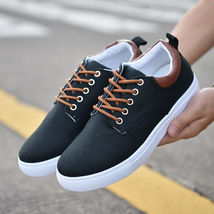 Shoes Up Lace Sneakers Comfortable Flats Top Sports Low Men's Casual Breathable 510qwpxWF
