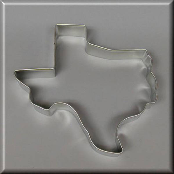 "5"" Texas Metal Cookie Cutter #NA7012"