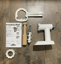 Kitchen Aid Food Meat Grinder Stand Mixer Attachment White FGA COMPLETE - $24.46