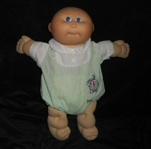 VINTAGE 1982 CABBAGE PATCH KIDS BABY DOLL BALD PREEMIE W OUTFIT STUFFED ... - $31.09