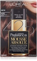 L'Oreal Paris Superior Preference Mousse Absolue, 425 Dark Mahogany Brown - $8.90