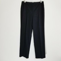 CHARTER CLUB Womens Black Dress Pants 12 P (30 Inseam) Katherine Fit Tro... - $17.60