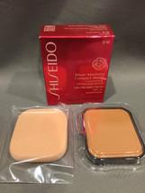 NIB Shiseido Sheer Matifying Compact Foundation Refill D10 Golden Brown ... - $14.92