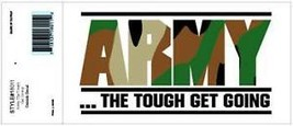 """Us Army """"The Tough Get Going"""" Sticker Decal - $13.53"""