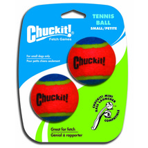 Canine Hardware Orange Chuckit! Mini Tennis Balls Dog Toys Mini/2 Pack 6... - ₹1,081.19 INR