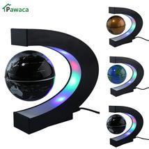 US/EU/UK Plug Home Office Decoration LED Floating Tellurion Globe C Shap... - $57.99+