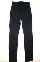New J Brand Womens Jeans Mid Rise Rail Carbon Blue 24 Skinny Straight Da... - $84.00