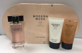 Modern Muse For Women EDP Spray 1.7 oz+2.5 oz Body Lotion+2.5 oz Gel New  - $42.06