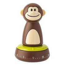 Joie Monkey Kitchen Timer, 60-Minute Mechanical, 4-Inches x 2.5-Inches - $23.01