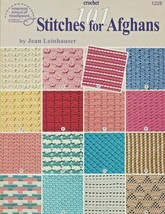 "Soft Covered Booklet ""101 Stitches For Afghans"" A.S.N. - Gently Used - $17.00"