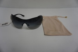 Authentic bvlgari sunglasses 6064-B 376/11 wrap grey lenses - £184.43 GBP