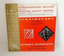 Vanguard Demonstration Record LP Tchaikovsky / Rimsky-Korsakov MARIO ROSSI - £11.20 GBP