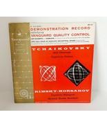 Vanguard Demonstration Record LP Tchaikovsky / Rimsky-Korsakov MARIO ROSSI - £11.08 GBP