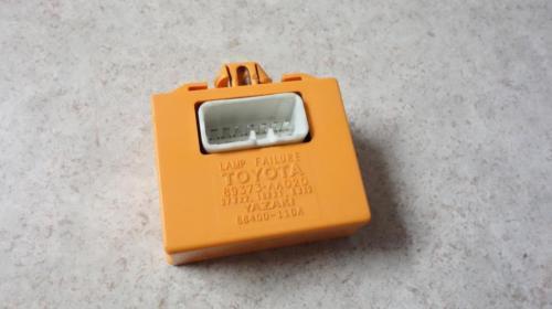 1999-2003 toyota solara sensor lamp failure orange 89373-aa020 feo image 3