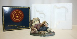 Wee Purrstones Collection / Boyds Bears #371051 Opie Baithook w/ Barney - $9.89