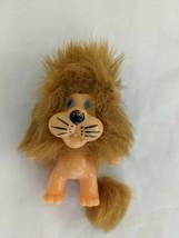 "Lion Figure 3"" Korea Hard Body Furry Mane Tail - $5.95"