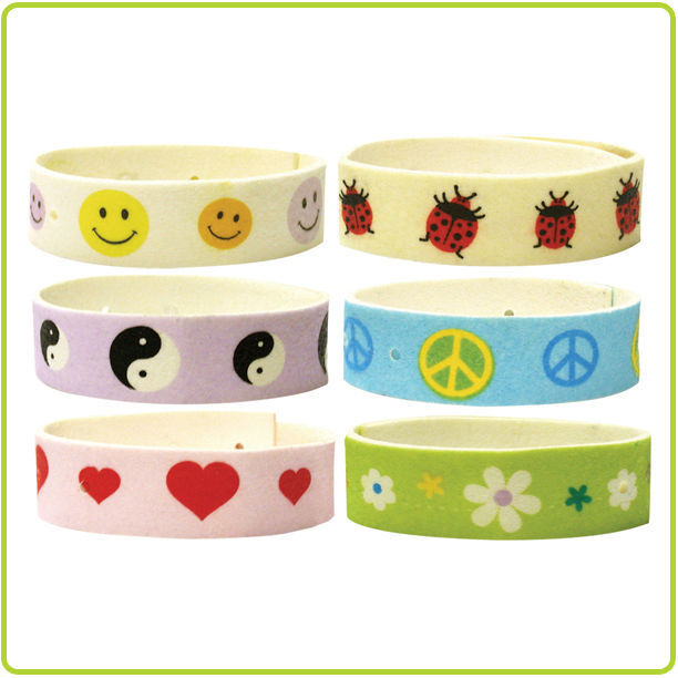 Mosquito Buster Band – Assorted Designs / 72 Pieces