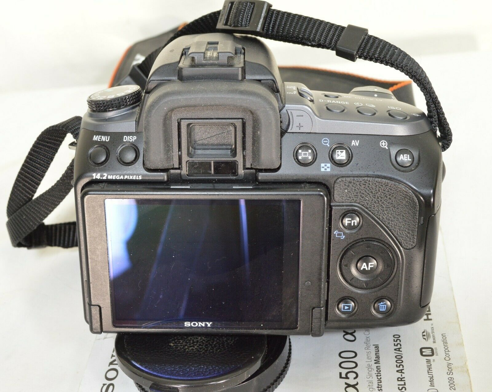 Sony Alpha DSLR-A550 14.2MP DSLR Camera Minolta Maxxum 35-105mm f/3.5-4.5 AF Len image 9