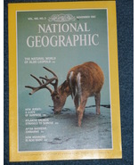 National Geographic  Magazine- Nov. 1981 - Vol. 160 - No. 5 - $8.50