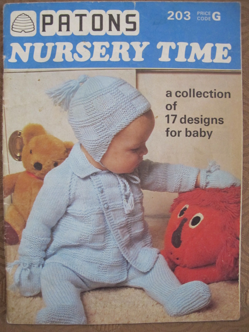 Vintage Patons 17 Knitting Patterns Baby And 50 Similar Items