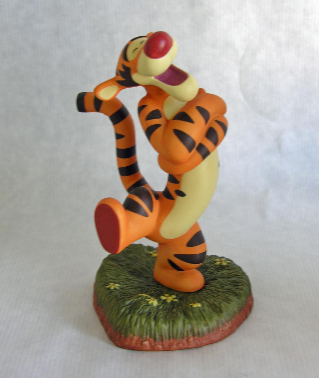 Enesco Pooh and Friends Tigger You're Huggerific Porcelain Figurine