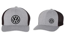 VW Volkswagen GTI JETTA GOLF Trucker Cap FLEXFIT HAT *FREE SHIPPING in BOX* - $19.99