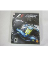 Formula One Championship Edition Playstation 3 Complete - $9.89
