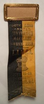 Antique Ribbon Maryland Convention Pharmacists Pharmacy Baltimore 1938 R... - $10.00