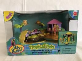 2000 Polly Pocket Tropical Pets Playset Mattel 27043 NIB Koala Parrot Tu... - $59.39