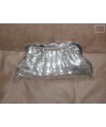 Vintage `1940's WHITING & DAVIS Silver Metal Mesh Clutch Purse - $6,435.00