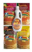 Hawaiian Sun Tropical Pancake Lovers 5 Piece Bundle (Choice of Syrup) - $42.99