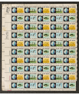 Save our Soil, Save our Cities, Save our Water, Sheet of 6 cent stamps, ... - $7.50