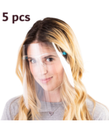 5pcs Face Shield Clear Glasses Protector Prevention,Arttoframes,eye,tran... - $27.99