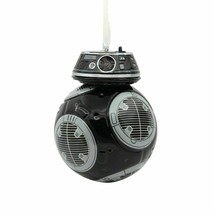 Lucas films Star Wars Hallmark BB-9E Blown Glass Christmas Tree Ornament image 1