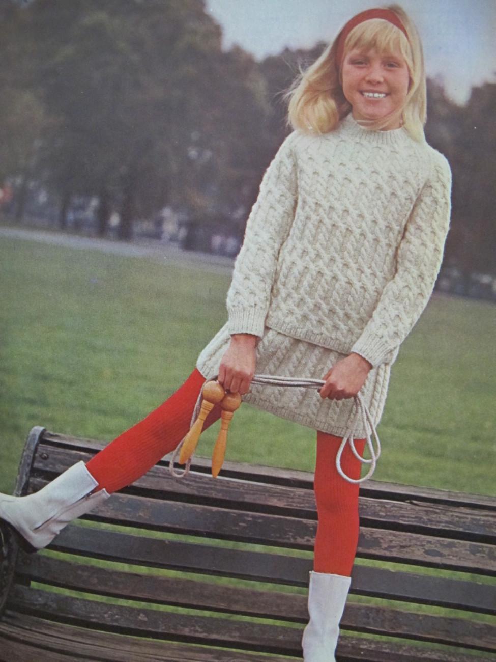 Vintage Patons ARANS Knitting Patterns CHILDREN Sweaters Fisherman Knits ARRAN