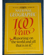 National Geographic Magazine- Sept. 1988 - Vol. 174 - No. 3 - 100 Years ... - $8.50