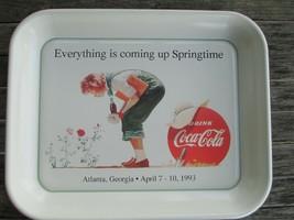 Coca-Cola Everything is coming up Springtime Tray 1993 Sundblom Artwork - $22.28