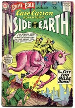 Brave and The Bold #32 1960-DC-Cave Carson DC Silver Age VG- - $63.05