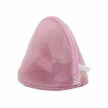 PANDA SUPERSTORE Set of 3 Shell Shape Solid Pink Style Underwear Washing Laundry