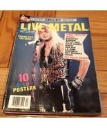 Blast! Live Metal December 1990: Poster Series,... - $9.99