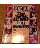 Circus Feb 1992: 22nd Readers Poll, Photo Yearbook - $9.99