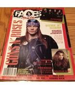 Faces Rocks: July/aug 1991 Guns N Roses, Slaugh... - $9.99