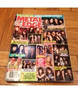 Metal Edge July 1991, Trixter, Slaughter, Bulle... - $13.99
